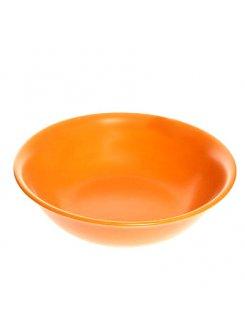 Keramická šalátová misa 23 cm - oranžová