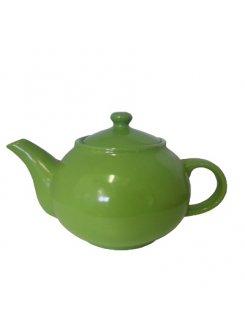 Čajník oválny 1,00L - zelená