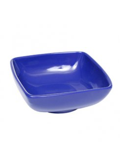 Keramická kompótová miska 11 cm - modrá