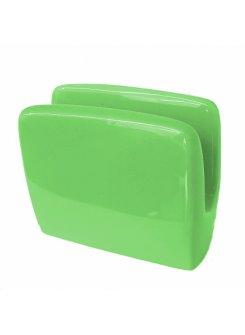 Stojan na servítky - zelená