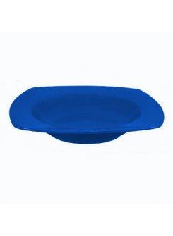 Tanier hlboký 21x21 cm - modrá