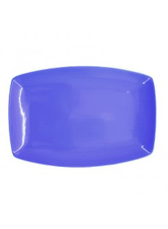 Tanier 36x25cm - modrý