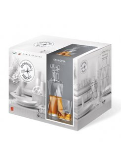 Cassiopea whisky set (7 dielny)