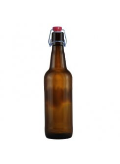 Fľaša na pivo s pákovým uzáverom 0,5L