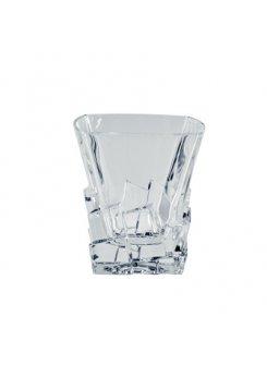 Krištáľové poháre na whisky Crack 310ml (6ks)