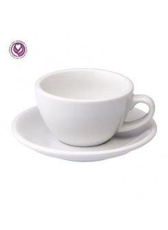 Šálka s podšálkou Egg Cappuccino 200ml - biela