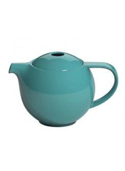 Konvička na čaj so sitkom Pro Tea 600ml - teal (petrolejová)