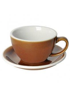 Šálka s podšálkou Egg Café Latte 300ml - caramel