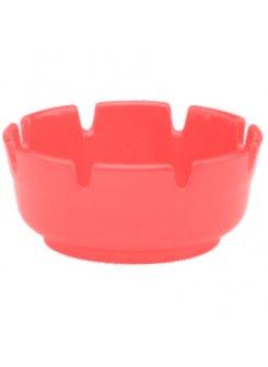Plastový popolník (10 cm) - červená