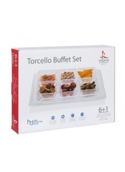 Torcello buffet set (7 dielny)